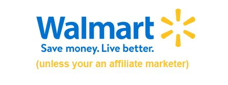Walmart and affiliate featured